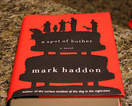 A Spot of Bother Hardcover Book