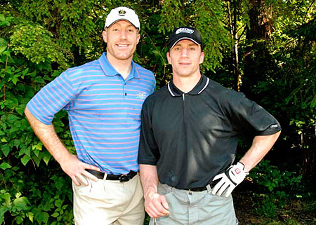 Rod Brind'Amour golfs for Cystic Fibrosis