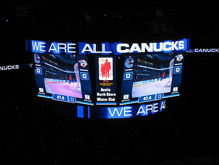 The Canucks New Scoreboard