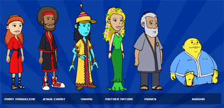 Cast of Characters from new TV show Earth TV