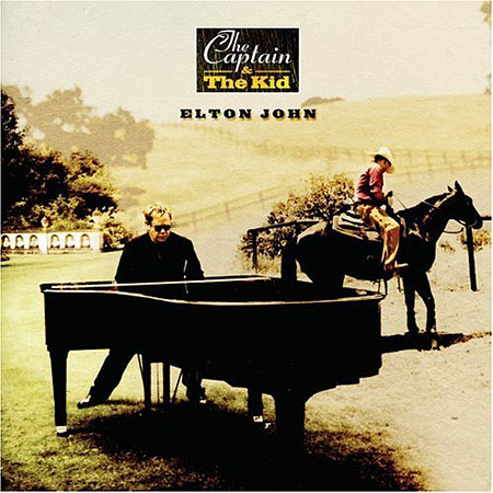 Elton John - Captain & the Kid Album Cover