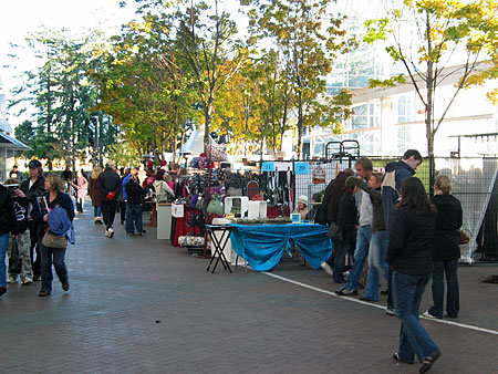 Portobello West Vendors in October (Vancouver 2006)
